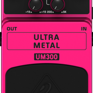 Behringer UM300 Heavy Metal Distortion Pedal