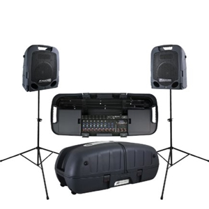Peavey Escort 6000 9 Channel, 600 Watt Portable PA System