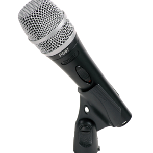 Shure Cardioid Dynamic Instrument Microphone, On-Off Switch, includes 15' XLR to XLR Cable