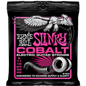 Ernie Ball Cobalt Super Slinkys Guitar Strings