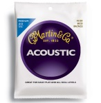 Martin M150 Medium Gauge 80/20 Bronze Guitar Strings