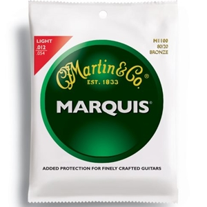 Martin M1100 Marquis Light Gauge 80/20 Bronze Guitar Strings