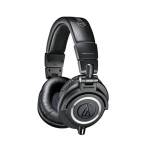 Audio Technica Closed Back Dynamic Studio Monitor Headphones