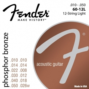 Fender 12 String Light Gauge Phospher Bronze Guitar Strings