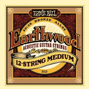 Ernie Ball Earthwood 12 String Medium Gauge Guitar Strings