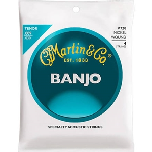 Martin V720 Tenor Banjo Nickel Wound Banjo Strings