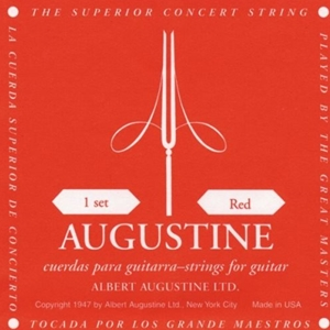 Augustine Red Label High Tension Nylon String Set