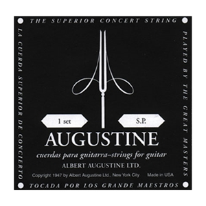 Augustine Black Label Low tension Nylon String Set