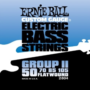 Ernie Ball Flatwound II Bass Strings, 50-105