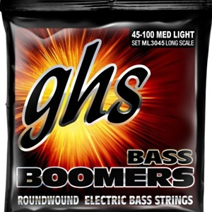 Ghs ML3045 Medium Light Roundwould Long Scale Bass Strings 45/100