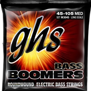 Ghs M3045 Medium Gauge Roundwound Long Scale Bass Strings