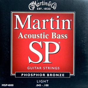 Martin MSP4800 Light Gauge Phospher Bronze Acoustic Bass Strings
