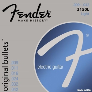Fender 3150L Light Gauge Original Bullets™ Guitar Strings 9-42