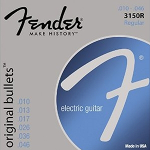 Fender 3150R Regular Gauge Original Bullets™ Guitar Strings 10-46