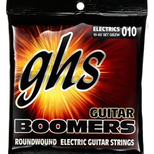 Ghs Heavyweight Boomers Electric Guitar Strings Light Tops