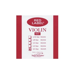 Super Sensitive 3/4 Size Violin Strings