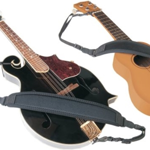 Neo Tech Mandolin / Ukulele Strap in Black