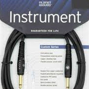 Planet Waves 10' Custom Pro Series Instrument Cables