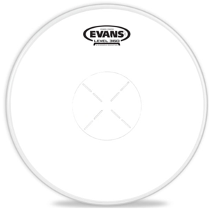 Evans Power Center Reverse Dot Drumhead, 14in