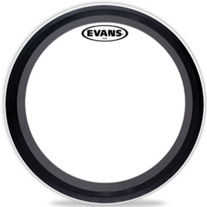 "Evans 22"" EMAD Batter Clear Bass Drumhead"