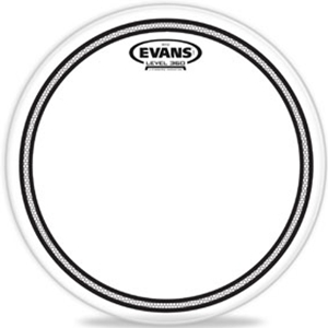 Evans Edge Control Clear Drumhead, Multiple Sizes