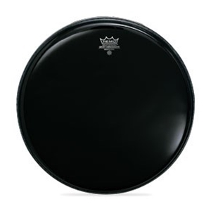 "Remo 22"" Drum Head Ebony"