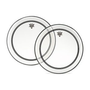 "Remo 22"" Powerstroke Clear Drumhead"