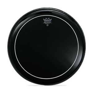 Remo Ebony Pinstripe Batter Drumhead, Multiple Sizes