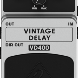 Behringer VD400 Vintage Analog Delay Effects Pedal