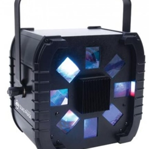 American DJ DMX LED moonflower effect with 224 high powered LEDs.