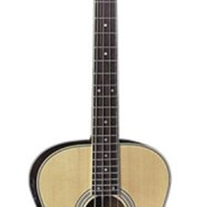Dean EAB Acoustic Electric Bass in Natual Satin Finish