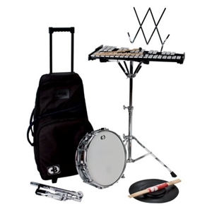 CB Bell and Snare Drum Traveler Combo Percussion Kit