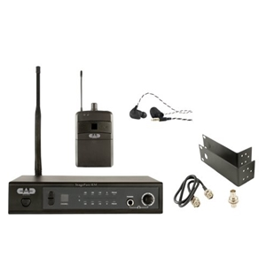 CAD StagePass™IEM Stereo Wireless In Ear Monitor System