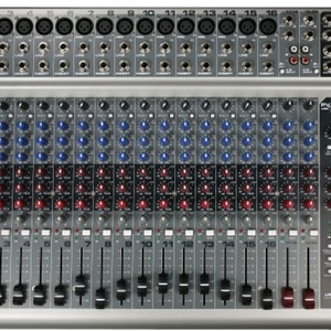 Peavey PV20USB 20 Channel Unpowered Mixer with USB and Onboard Effects