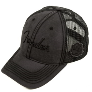 Fender® Blackout Trucker Cap