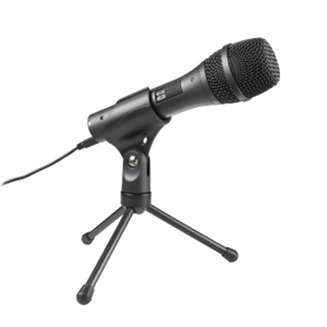 Audio Technica AT2005USB Dynamic Cardiod Handheld Microphone with USB and XLR Connections