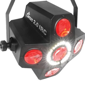 Chauvet Circus 2.0 IRC Strobe and Effects Light