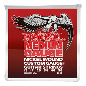 Ernie Ball Medium Nickel Wound  Electric Guitar Strings