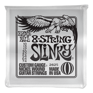 Ernie Ball Slinky 8-String Nickel Wound Electric Guitar Strings