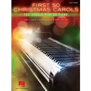 First 50 Christmas Songs to Play on Piano