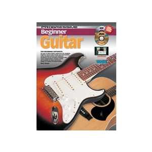 Progressive Beginner Guitar w/CD, DVD, and Chord Chart