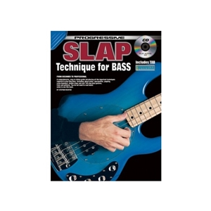 Progressive Slap Technique for Bass with CD and Poster
