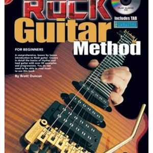 Progressive Rock Guitar Method with CD and Poster