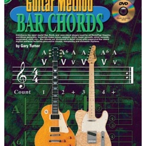 Progressive Guitar Method Bar Chords with DVD/CD