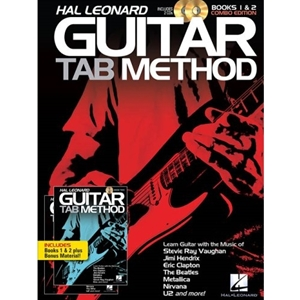 Hal Leonard Guitar Tab Method Books 1 and 2