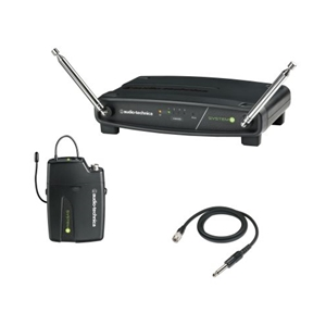 Audio Technica System 9 Frequency-agile VHF Guitar Wireless System