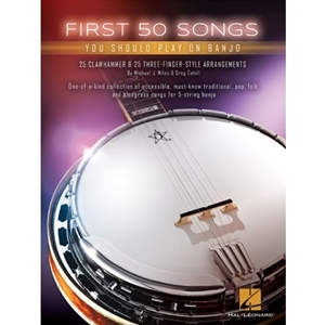50 First Songs for Banjo