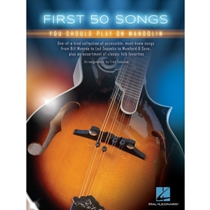 50 First Songs for Mandolin