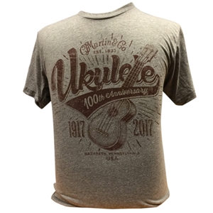 Martin 100th Anniversary Ukulele Tee- Medium