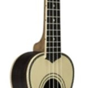 Lanikai Solid Spruce Top Tenor Ukulele with Deluxe Gig Bag